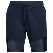 Under Armour Men's Threadborne Terry Shorts - Navy - S - Blue