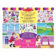 Melissa & Doug Stickerboek Groot Prinses 35x28cm