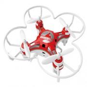 Mini Drona De Buzunar Quadcopter 124 Rosu STAR