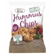 Eat Real Hummus Chips Paradicsom Bazsalikom 45 g