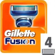 Gillette Fusion recambios de cuchillas 4 ud