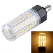 E14 15W 126 LEDs SMD 5730 Energy-saving Corn Light Bulb AC 110-265V(Warm White)