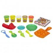 Pasta de modelat Play-Doh Pizza party 5 culori