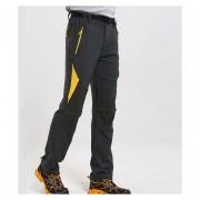 Pantalon Mujer Deportivo De Trekking Senderismo Escalada - Gris
