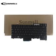 SUNMALL Laptop Keyboard Replacemnet Compatible with Dell Latutude E6400 E6410 E6500 E6510 E5410 E5510 E5400 E5500 Precision M2400 M4400 M4500 Series Black US Layout