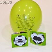 Invitatie Botez Cu Balon Tematica Fotbal