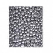 Golyó csillámos 4-8mm 1000ml ezüst