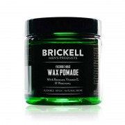 Brickell Flexible Hold Wax Pomade 2 oz / 60 mL Hair Care