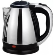Lagom LM -44 Hot Water Pot Portable Boiler Tea Coffee Warmer Heater Cordless Electric Kettle Electric Kettle(1.8 L, Silver)