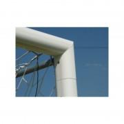 Vivisport porti fotbal fixe 7.32x2.44 m, profil oval al