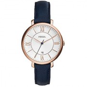 Fossil Jacqueline Analog White Dial Womens Watch - ES3843