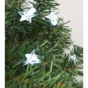 Home dekoráció izzósorhoz, csillag, 50 db-os (DECO 6)