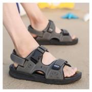 Sandalias Zapatillas Casual Fashion-Cool Para Hombre-Gris