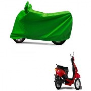AutoAge Full Green Two Wheeler Cover For Yo Xplor