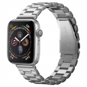 Spigen Kovový řemínek pro Apple Watch 42mm / 44mm - Spigen, Modern Fit Silver
