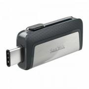 SanDisk Ultra Dual Drive USB Type-CTM Flash Drive 128GB USB memorija SDDDC2-128G-G46 SDDDC2-128G-G46