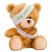 Merkloos Pluche beterschap beer/beren knuffel 14 cm speelgoed