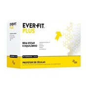 Ever-fit plus suplemento bem-estar e equilíbrio 90 comprimidos - Ever fit