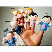 Finger-Puppet - FamilyBaby - Education-Play -Toy-Hand-Puppets Cotton