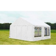 Classic Plus Partytent PVC 5x4x2 mtr in Wit