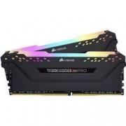 Corsair Sada RAM pro PC Corsair Vengeance® PRO RGB CMW16GX4M2C3000C15 16 GB 2 x 8 GB DDR4-RAM 3000 MHz CL15 17-17-35