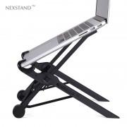 opvouwbare laptop lapdesk hoogte verstelbare met zwart voor laptop notebook pc, ergonomische opvouwbare laptop houder NEXSTAND