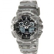 G-Shock Analog Grey Dial Mens Watch - Ga-100Cm-8Adr (G581)