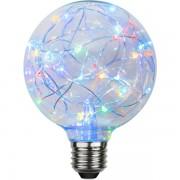 Star Trading LED stor glob RGB blinkande ljus 1,5W 15lm G95 E27