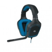 Слушалки Logitech G430 Surround Sound Gaming Headset, микрофон, USB, черни