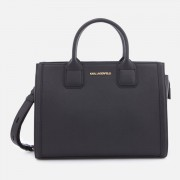 Karl Lagerfeld Women's K/Klassik Tote Bag - Black/Gold