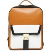 Viari MURANO Backpack(Tan, 9 inch)