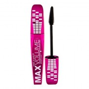 Wet n Wild Max Volume Plus mascara volumizzante waterproof 8 ml tonalità Amp´d Black donna