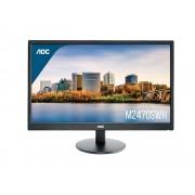 "Monitor AOC 23.6"", M2470SWH, 1920x1080, LCD LED, MVA, 5ms, 178/178o, VGA, HDMI 2x, Zvučnici, crna, 36mj"