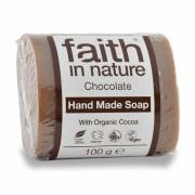Sapun solid cu ciocolata, Faith in Nature, 100 g