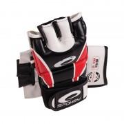 HIYO Mănuși piele pentru MMA red M-XL - all size in detail
