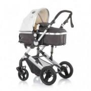 CHIPOLINO Kolica za bebe sa autosedištem TERRA creme 710091