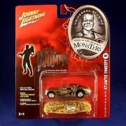 CHRYSLER ATLANTIC CONCEPT #9 * THE MUMMY * Johnny Lightning 2005 UNIVERSAL STUDIOS MONSTERS 1:64 Scale SERIES 2 Die Cast Vehicle & Monster Shroud Car Cover