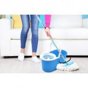 Set curatenie cu galeata si mop rotativ Vanora Easy Clean 360