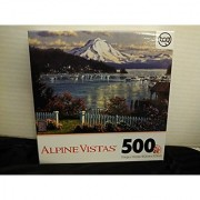 Alpine Vistas Mountain Scene 500 Piece Puzzle