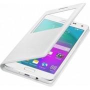 Husa Flip S-View Samsung Galaxy A7 A700 2015 White