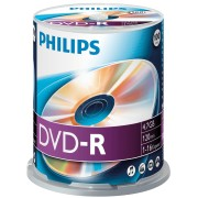 PHI DM4S6B00F/00 - Philips DVD-R 4.7 GB, 16x Speed, Spindle 100