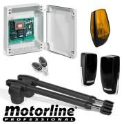 Kit automatizare poarta batanta 2x4m -MOTORLINE, LINCE600-KIT