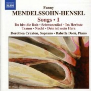 F. Mendelssohn-Hensel - Songs Vol.1 (0747313098170) (1 CD)