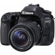 Canon Eos 80d + 18-55mm F/3.5-5.6 Is Stm Man. Ita - 2 Anni Di Gar. In Italia