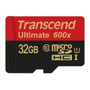 Transcend Ultimate series TS32GUSDHC10U1 - Carte mémoire flash - 32 Go - UHS Class 1 / Class10 - SDHC UHS-I