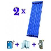 Pachet 2 panouri solare tuburi vidate Buderus Logasol SKR 1XSKR6.1 + 1XSKR12.1