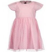 Blue Seven! Meisjes Jurk - Maat 62 - Roze - Polyester