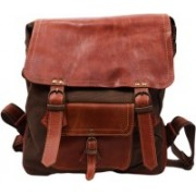 SS Leathers Women Casual Brown Genuine Leather Shoulder Bag