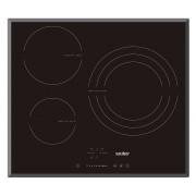 Sauber SEV03 - Vitroceramica Induccion 3 Zonas Coccion Ancho 60 Cm