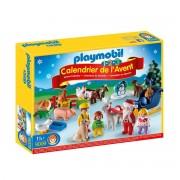 """Playmobil 1.2.3 Adventskalender """"Weihnacht auf dem Bauernhof"""" - 9009"""
